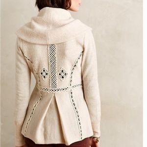 Anthropologie Angel of North Soutache Trim Jacket